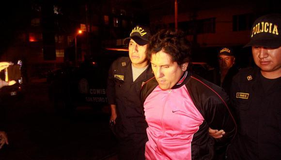 Jorge Luis Minchola Arzani fue detenido siete meses después del crimen.