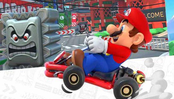 Nintendo lanzará 'Mario Kart Tour' el próximo 25 de setiembre 'para dispositivos Android e iOS.