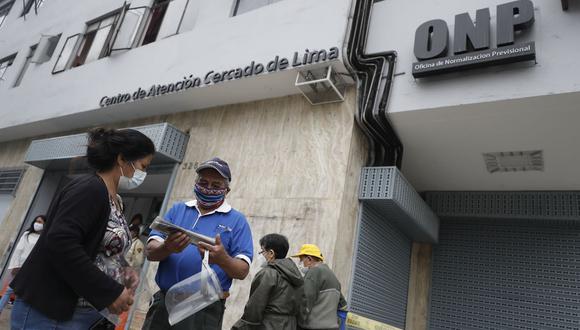 El jefe de la ONP sugiere una reforma integral del sistema de pensiones. (Foto: GEC/César Campos)