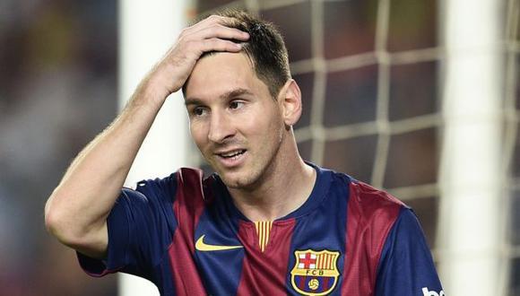 Messi manda en el Barza. (AFP)