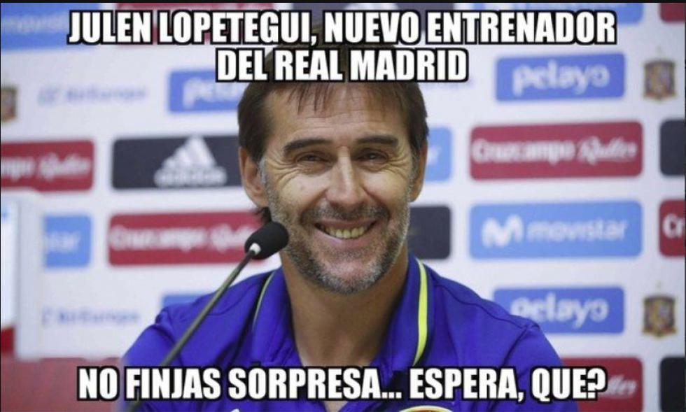 Julen Lopetegui fue destituido de la selección de España luego de anunciar su fichaje por el Real Madrid.