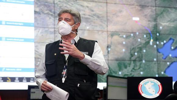 Sagasti advierte que según datos de Interpol existen estafadores que están traficando con vacunas contra el COVID-19 falsificadas. (Foto: Presidencia del Perú)