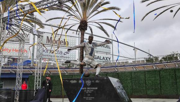 """Beckham también será elevado al """"Anillo de Honor"""" de LA Galaxy. (Foto: Twitter LA Galaxy)"""