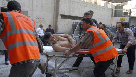 Explosión dejó cerca de 30 heridos. (Reuters)
