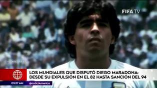 Diego Maradona: los Mundiales de la leyenda  argentina antes de su sanción del 94