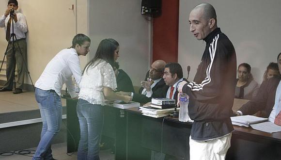 Trujillo Ospina lució contradictorio y fastidiado durante la diligencia judicial. (Rafael Cornejo)