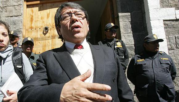 Ciro Castillo Rojo comentó archivamiento del caso de su hijo. (USI)