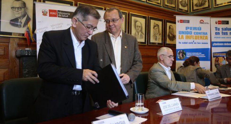 Calma. El viceministro José del Carmen pide tranquilidad.(David Vexelman)