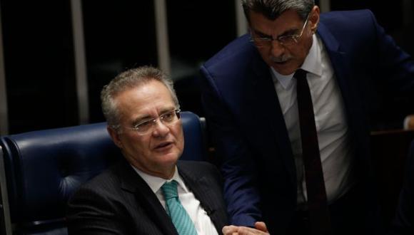 Fiscalía ordenó pedido de detención para Romero Jucá y Renan Calheiros. (Agencia)