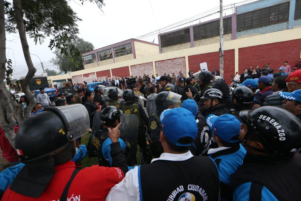 Municipalidad de Independencia denunciará a la de San Martín de Porres tras violentos enfrentamientos (Manuel Melgar/GEC)