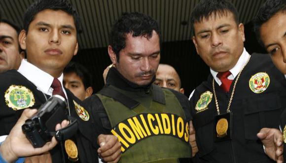 Procedimiento. Ricardo Vásquez sería llevado a un penal en las próximas horas. (Oswaldo Cabrera/USI)