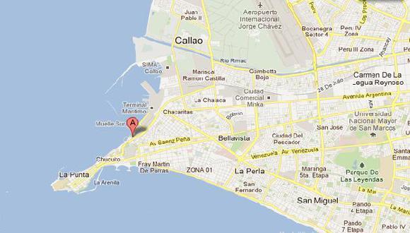 El depravado fue detenido en la Plaza Grau del Callao. (Google Maps)