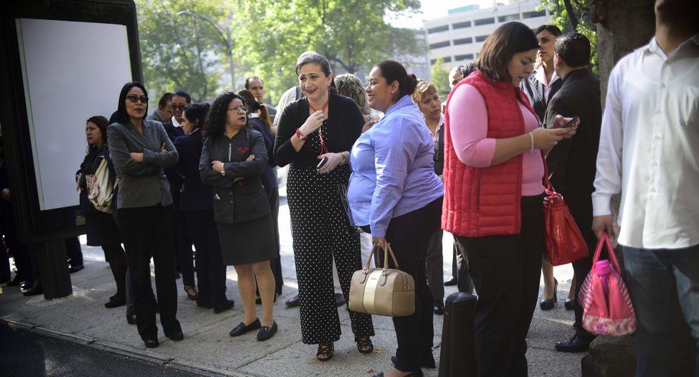 Sismo de magnitud 5.3 dispara alerta sísmica en Ciudad de México (AFP)
