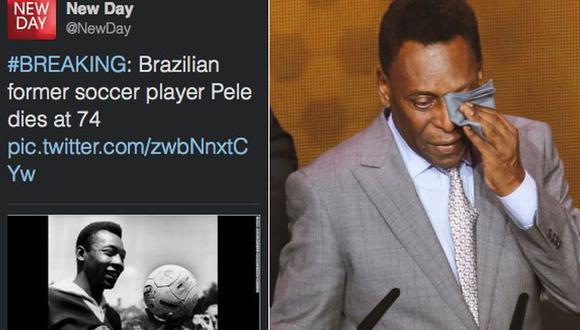 Programa de CNN mató por error a Pelé en Twitter. (USI/Internet)