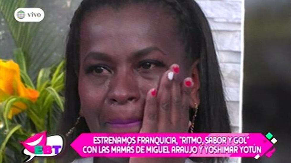 Madres de Araujo y Yotún se emocionan por sus hijos