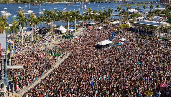 SunFest es considerado uno de los conciertos más grandes de Florida y llega a unir 275.000 personas. (Foto: SunFest).