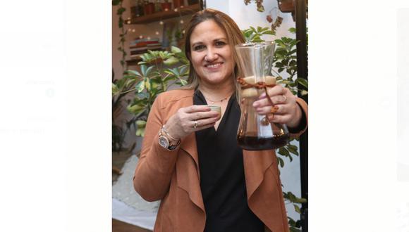 Emprendedora y amante del café peruano. (Foto: Aura Guío)