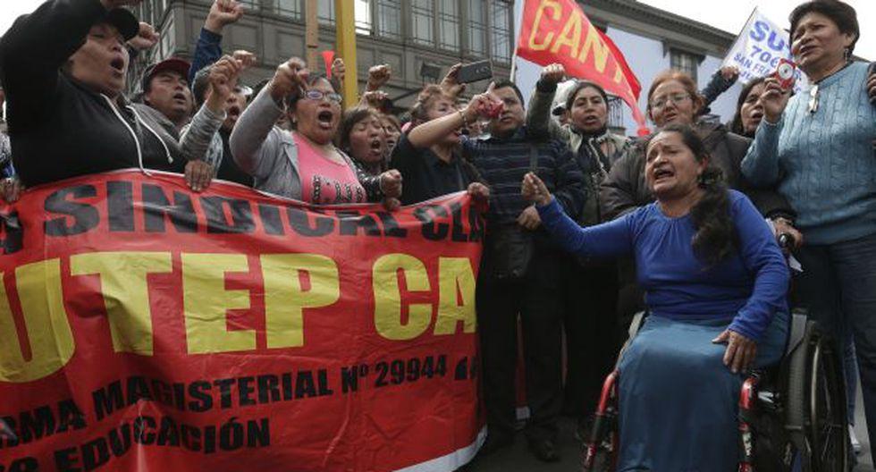 ¿Quién esta detrás de la huelga de maestros? (Perú21)