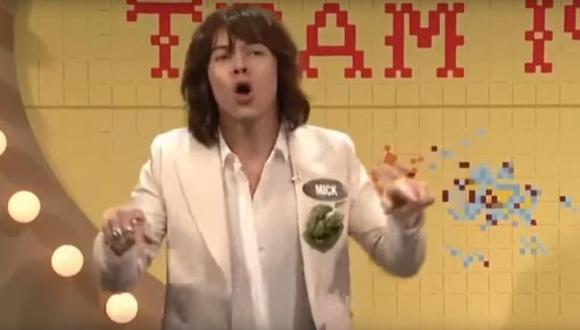 Mira a Harry Styles imitando al rockero Mick Jagger (Créditos: Captura de video)