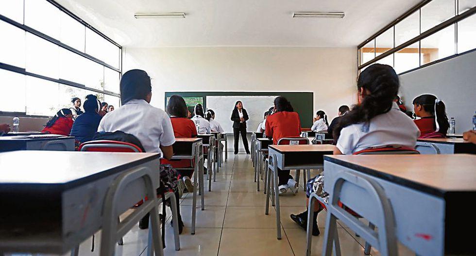 El Minedu se enfocará en fortalecer la educación sexual en los colegios. (MarioZapata/Perú21)