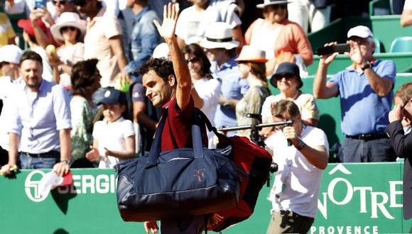 Roger Federer anunció que no competirá en Roland Garros. (AFP)