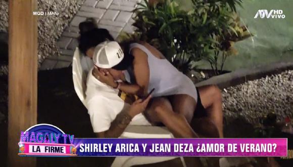 Jean Deza y Shirley Arica habrían puesto fin a su relación sentimental. (Foto: Captura ATV)