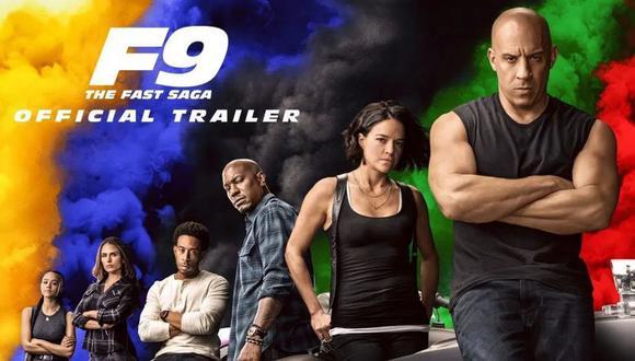 """""""Rápidos y Furiosos 9"""" recaudó 70 millones en su primer fin de semana. (Foto: Universal Pictures)."""
