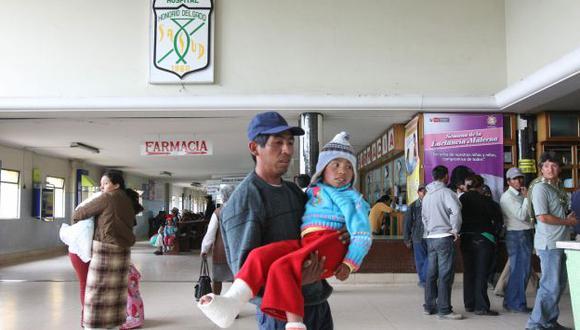 Se busca que las personas más pobres del país se afilien al SIS. (USI)