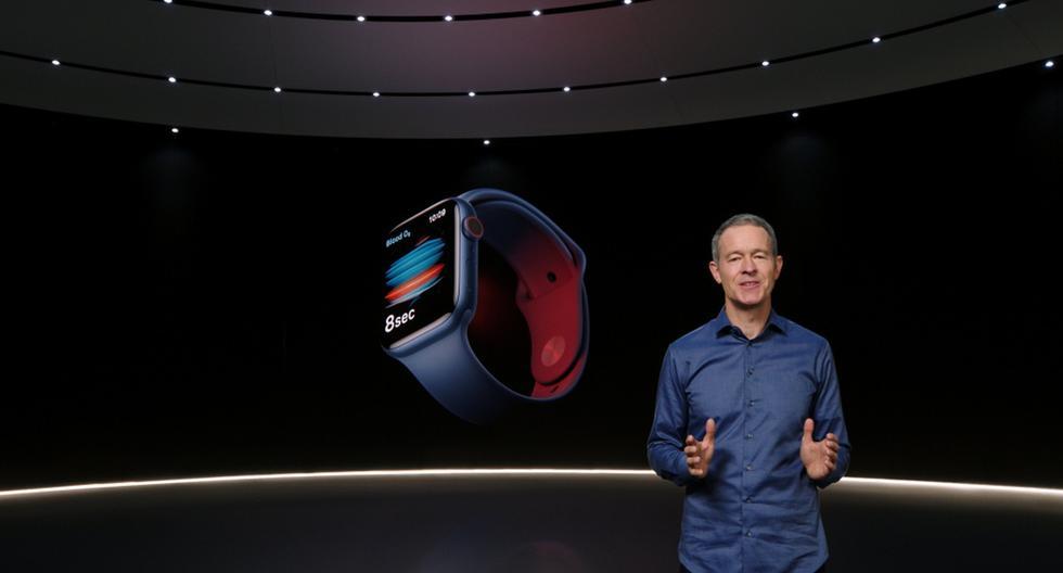 Apple presenta nuevo reloj inteligente que mide el nivel de oxígeno en la sangre
