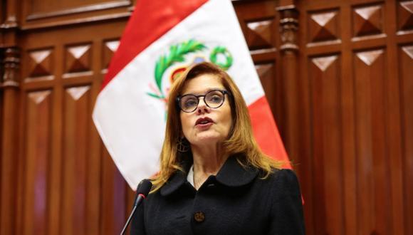 Renuncia presentada por Mercedes Araoz es considerada inválida por Vicente Zeballos. (Foto: GEC)