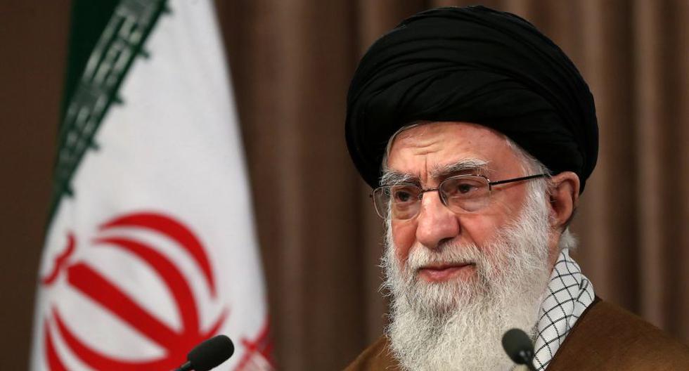 Imagen del guía supremo de Irán, el ayatola Alí Jamenei. (AFP).