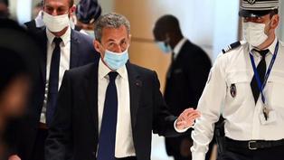 Expresidente francés Nicolas Sarkozy condenado a 3 años de cárcel