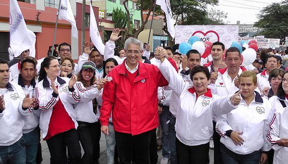 Somos Perú satisfecho con las cifras obtenidas en las elecciones. (USI)