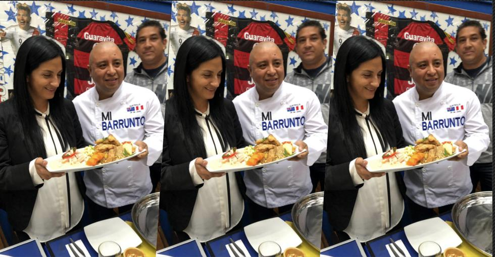 Cevichería Mi Barrunto le dedica un plato al fallecido periodista deportivo. (Luis Hidalgo)