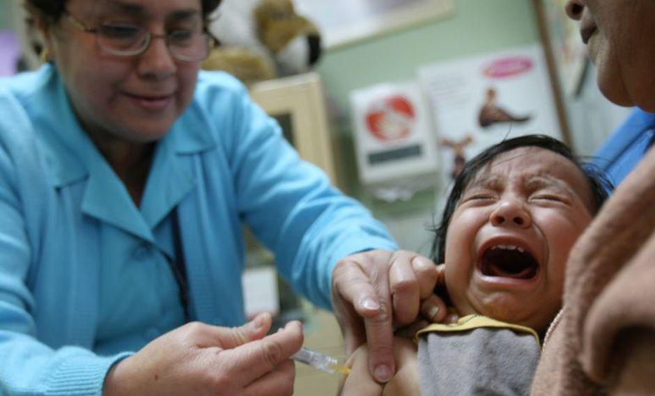 El Minsa exhortó a los padres de familia a acudir con sus hijos a los hospitales, puestos y centros de salud. (Imagen referencial/Archivo)