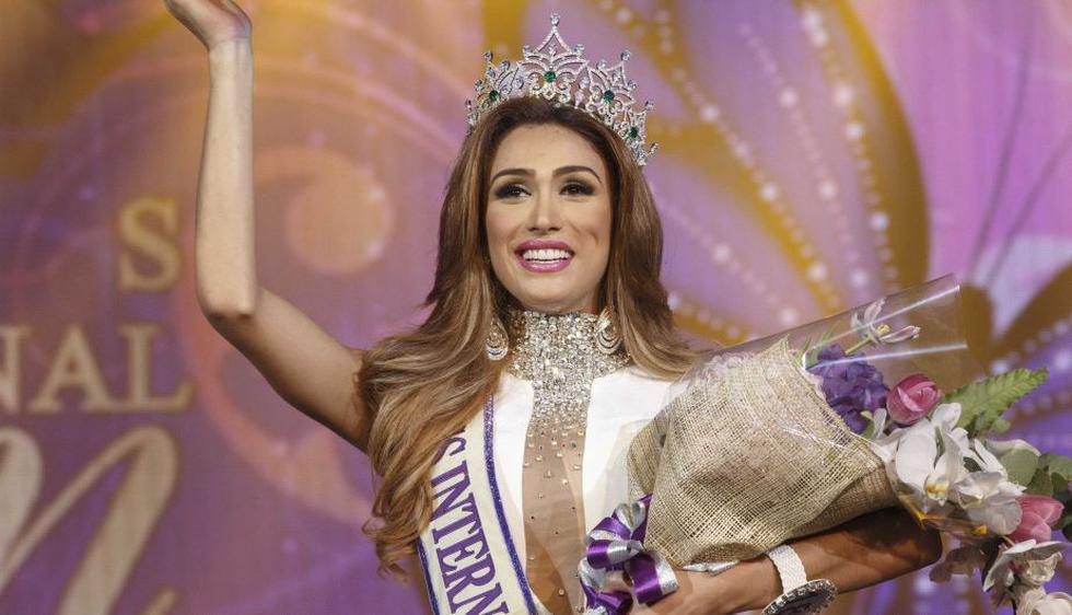 Isabella Santiago ganó Miss International Queen. (Reuters)