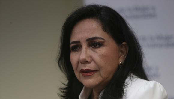 Ministra confía en que poco a poco las cifras de feminicidios y violaciones irán cayendo. (Foto: GEC)