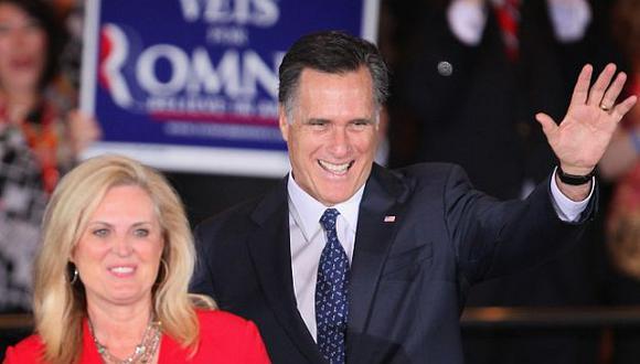 Mitt Romney alcanzó un 47% de las preferencias. (The Huffington Post)