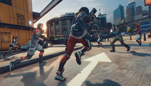 El título gratuito de Ubisoft,'Hyper Scape', ofrece un fin de semana de doble experiencia.
