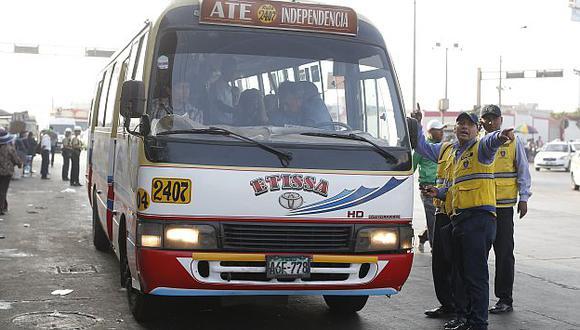 'Chosicano': Municipalidad de Lima suspendió por dos meses a la empresa de transporte. (USI)
