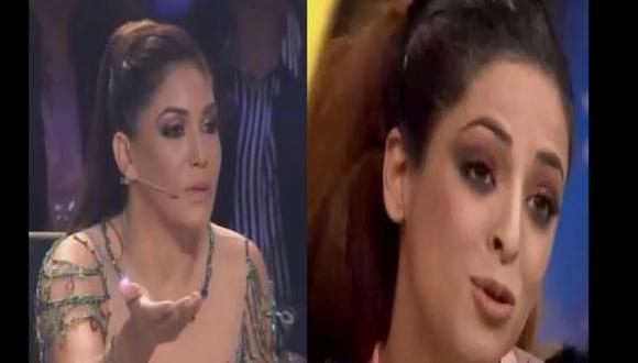 """Tilsa Lozano acusó a Andrea Luna de hacer """"pataletas"""" tras ser eliminada de 'Reinas del Show'. (Composición)"""