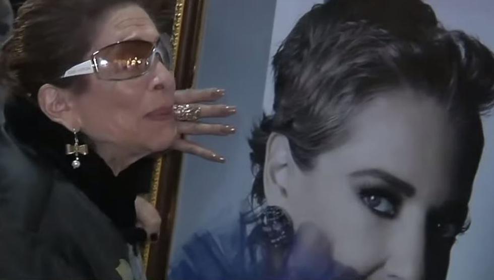 """Mamá de Edith González: """"Me voy a ir contigo, hijita"""". (Captura)"""