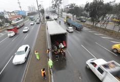 Retiro de barreras viales en carriles de la Panamericana Sur concluirá este domingo | FOTOS