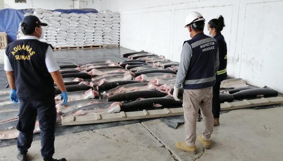 El tiburón es una especie marina en peligro de extinción por lo que es protegida a nivel internacional y su venta está prohibida. (SUNAT)