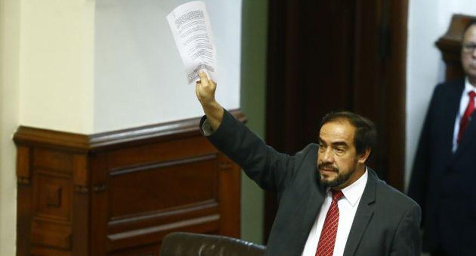 """Mostró su """"plena confianza"""" en que el Congreso no objetará las normas. (Luis Centurión/Perú21)"""