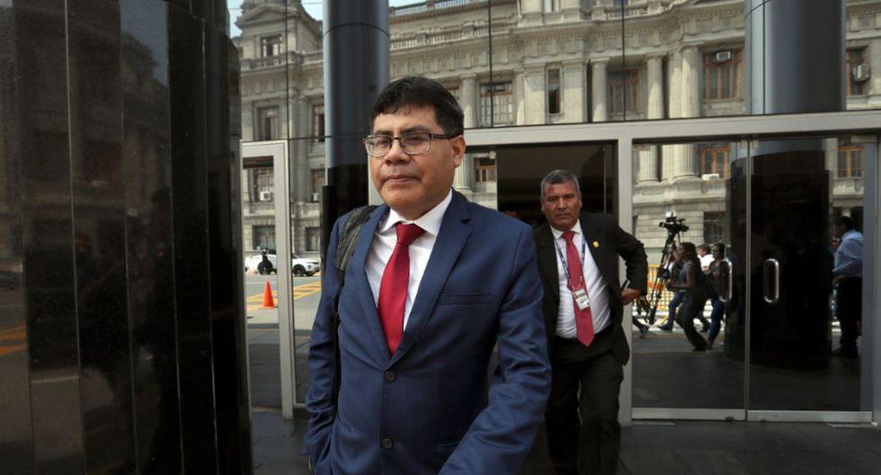 Germán no se mete con Martincito. (Foto: Rolly Reyna)