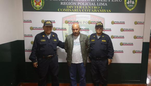 ESCÁNDALO. Juan Carlos Hidalgo Lara llevaba laborando más de diez años en el Poder Judicial. (PNP)