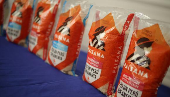 Fortificar el arroz es una opción para luchar contra la anemia, señaló la SNI. (Foto: Difusión)