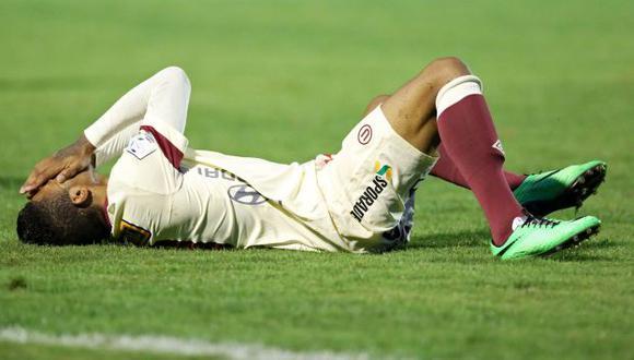 Universitario y su mala racha en la Copa Libertadores. (AFP)