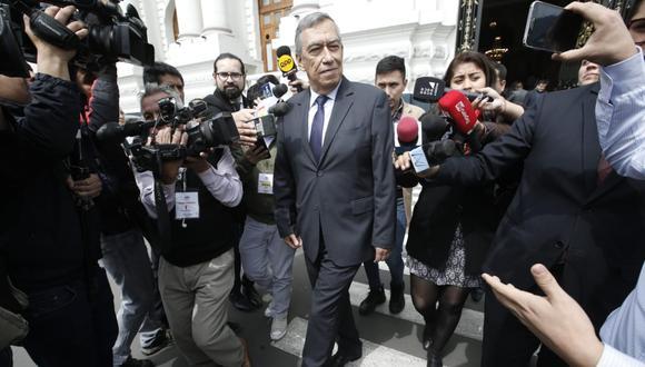 El hermano del mandatario César Vizcarra reiteró que su empresa no ha contratado con Odebrecht. (Foto: Mario Zapata Nieto / GEC)